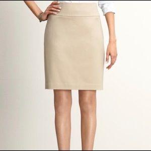 BANANA REPUBLIC Khaki Pencil Skirt